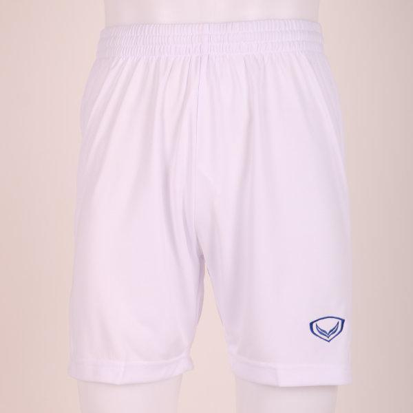 กางเกงฟุตบอลแกรนด์สปอร์ต รหัส : 037217 (สีขาว-น้ำเงิน)