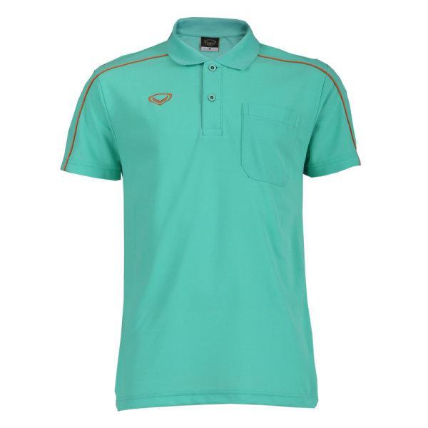 เสื้อโปโลชายแกรนด์สปอร์ต(สีเขียว) รหัส: 012495