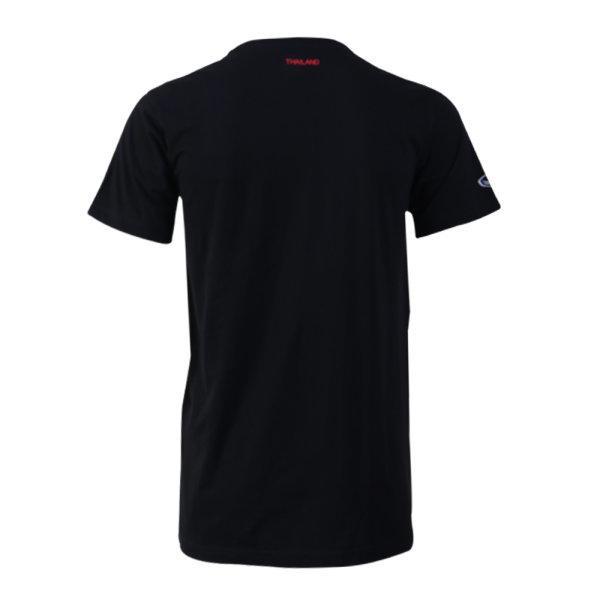 เสื้อคอกลมแกรนด์สปอร์ต(สีดำแดง) รหัส :023174