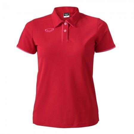 เสื้อโปโลหญิงแกรนด์สปอร์ต (สีแดง)รหัสสินค้า : 012762