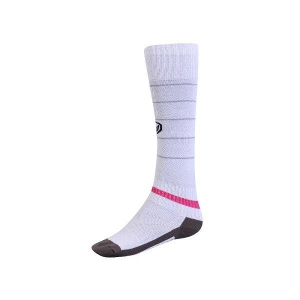 ถุงเท้ากีฬาฟุตบอลทอลาย  รหัส : 025134 (สีขาว)