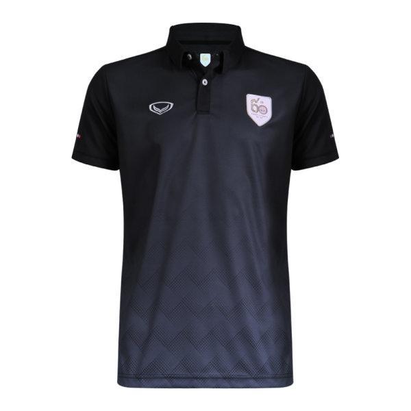 เสื้อโปโลแกรนด์สปอร์ต รหัสสินค้า : 023173 (สีดำ)