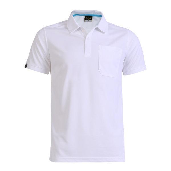 เสื้อโปโลชายแกรนด์สปอร์ต รหัสสินค้า : 012572 (สีขาว)