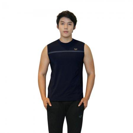 เสื้อแขนกุดชาย แกรนด์สปอร์ต(สีกรม) รหัส: 028389