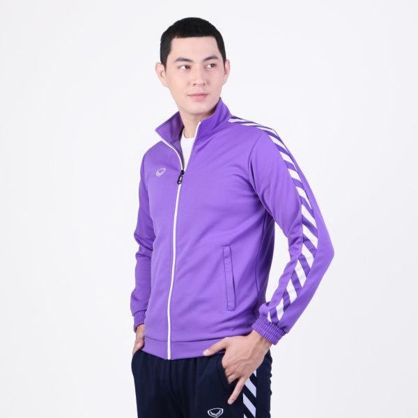 เสื้อวอร์มแกรนด์สปอร์ต รหัส :016368 (สีม่วง)