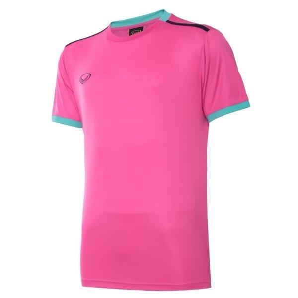 เสื้อกีฬาฟุตบอลตัดต่อ แกรนด์สปอร์ต  รหัสสินค้า : 011541 (สีบานเย็น)