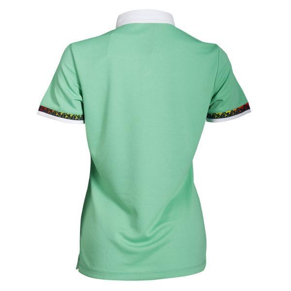 เสื้อโปโลหญิงแขนสั้น (สีเขียว) รหัส : 012746