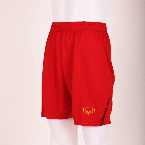 กางเกงฟุตบอลแกรนด์สปอร์ต รหัส : 037235 (สีแดง)