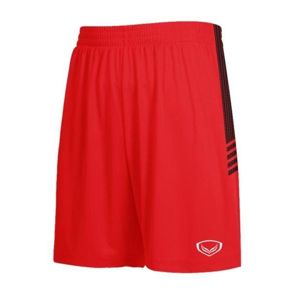 แกรนด์สปอร์ตกางเกงกีฬาฟุตบอล รหัสสินค้า:001465  (สีแดง)