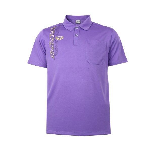 เสื้อโปโลชาย แกรนด์สปอร์ต รหัส : 012583 (สีม่วง)