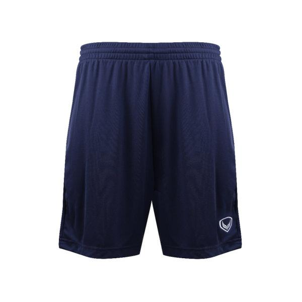 กางเกงกีฬาฟุตบอลตัดต่อ แกรนด์สปอร์ต รหัสสินค้า:001456  (สีกรม)