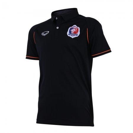 เสื้อโปโลคอปกทีมท่าเรือ 2019 รหัสสินค้า : 040500 (สีดำ)