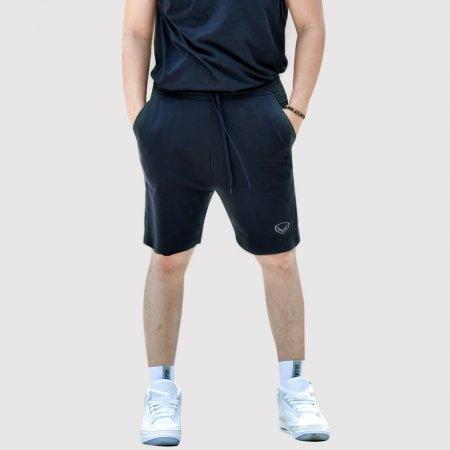 กางเกงลำลองขาสั้น แกรนด์สปอร์ต(สีดำ) รหัส : 024159