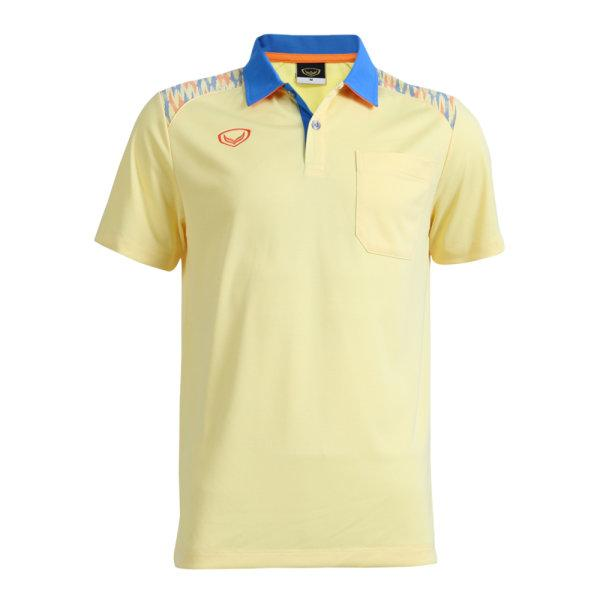 เสื้อโปโลชายแกรนด์สปอร์ต รหัส :012576 (สีเหลือง)