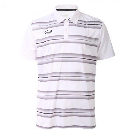 เสื้อโปโลแกรนด์สปอร์ต (สีขาว) รหัส: 072036