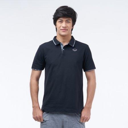 เสื้อโปโลแกรนด์สปอร์ต (สีดำ)รหัสสินค้า : 012228