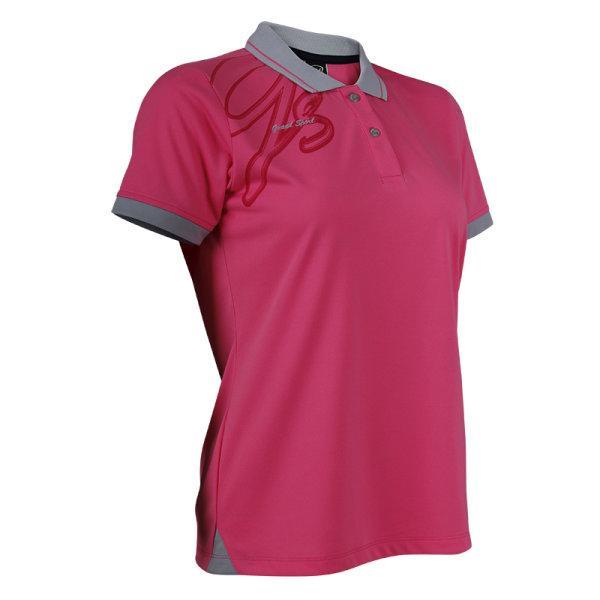 แกรนด์สปอร์ตเสื้อโปโลหญิง (สีบานเย็น) รหัส:012738
