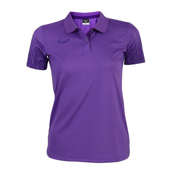 เสื้อโปโลหญิงแกรนด์สปอร์ต(สีม่วง) รหัส : 012763