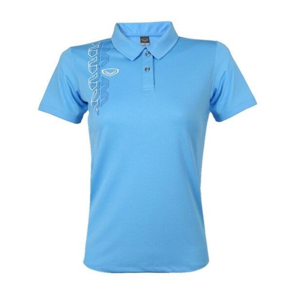 เสื้อโปโลหญิง แกรนด์สปอร์ต รหัส : 012783 (สีฟ้า)