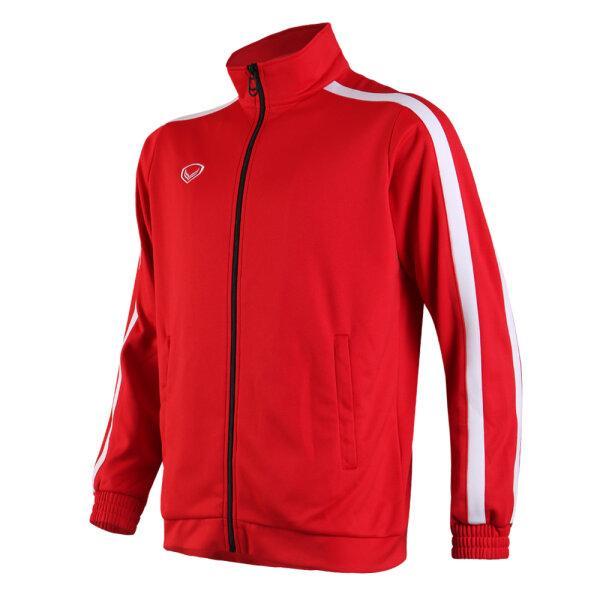 เสื้อวอร์มแกรนด์สปอร์ต รหัส : 016373 (สีแดงขาว)