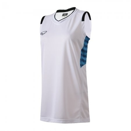เสื้อบาสเกตบอลแกรนด์สปอร์ตหญิง(สีขาว)รหัส:013157
