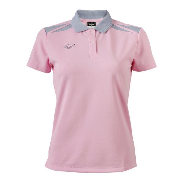 เสื้อคอปกหญิง แกรนด์สปอร์ต (สีชมพู) รหัส :012694