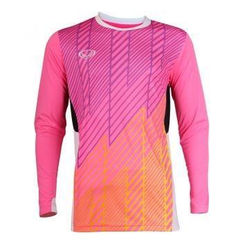 เสื้อประตูฟุตบอล แขนยาว แกรนด์สปอร์ต รหัสสินค้า : 018095 (สีชมพู)