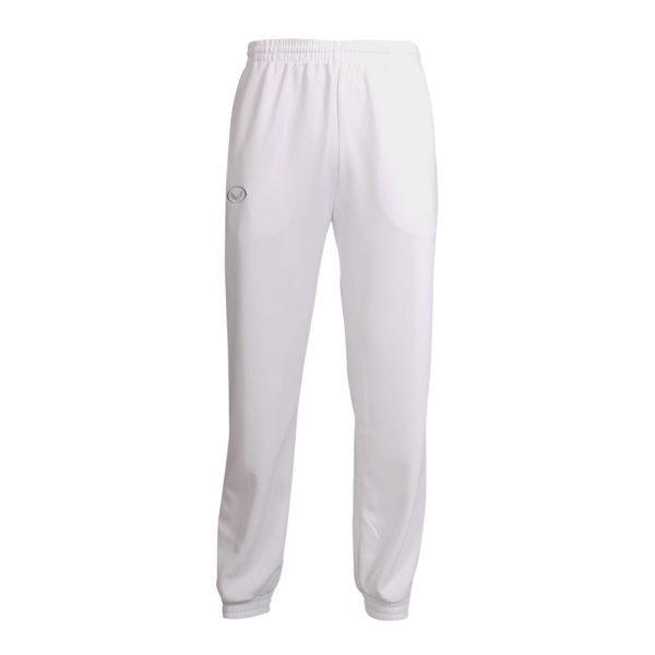 กางเกงวอร์มสีล้วนขาจั๊ม (สีขาว) รหัส : 006184