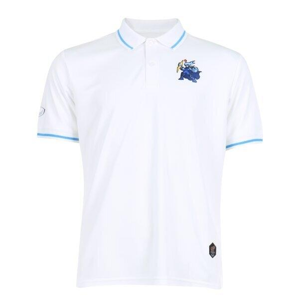 เสื้อคอปก ไทยลีก แบทเทิลบอล สายฟ้า รหัส :333311 (สีขาว)