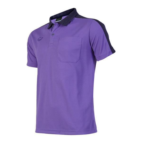เสื้อโปโลชายแกรนด์สปอร์ต (สีม่วง) รหัส : 012573