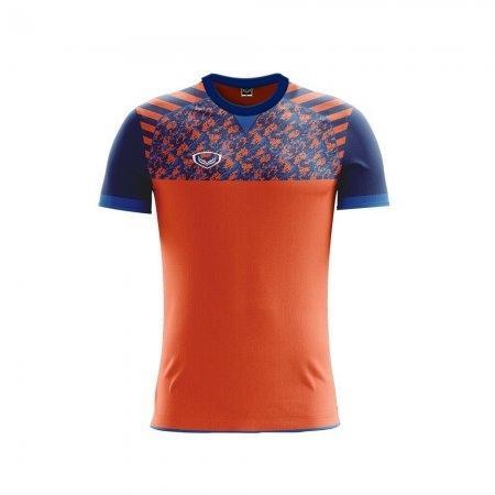 เสื้อฟุตบอลแกรนด์สปอร์ต  (สีส้ม) รหัส :011444