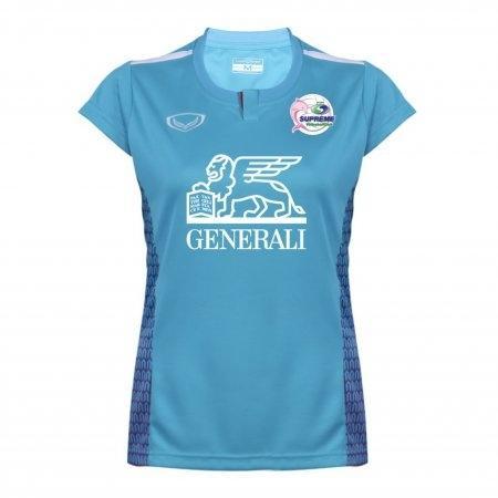 เสื้อวอลเลย์บอลสโมสรสุพรีม (สีฟ้า) รหัส:014268