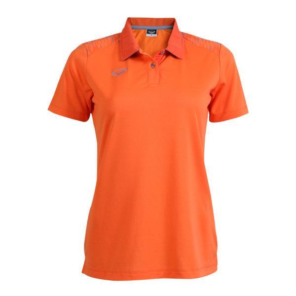 เสื้อโปโลหญิงแกรนด์สปอร์ต รหัส : 012776 (สีส้ม)