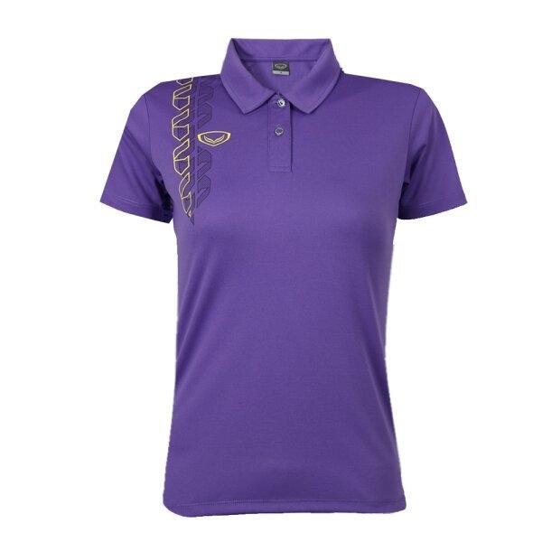 เสื้อโปโลหญิง แกรนด์สปอร์ต รหัส : 012783 (สีม่วง)