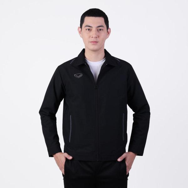 แกรนด์สปอร์ตเสื้อแจ็คเก็ต (สีดำ) รหัสสินค้า : 020659