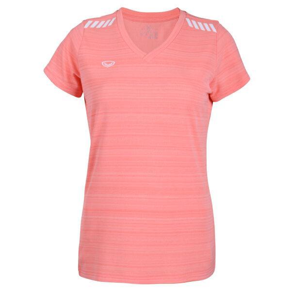 แกรนด์สปอร์ตเสื้อออกกำลังกายหญิง รหัส : 028784 (สีส้ม)