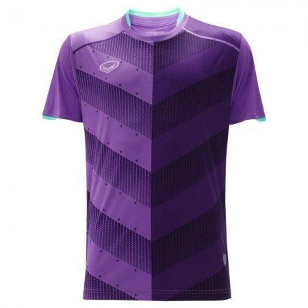 เสื้อฟุตบอล พิมพ์ลาย ปี 2018(สีม่วง)รหัส:011447