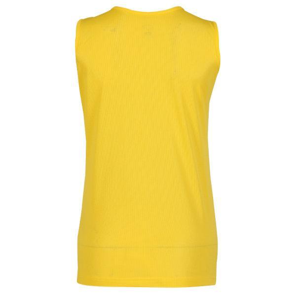 เสื้อวิ่งหญิงพิมพ์ลายด้านหน้า รหัส : 017147 (สีเหลือง)