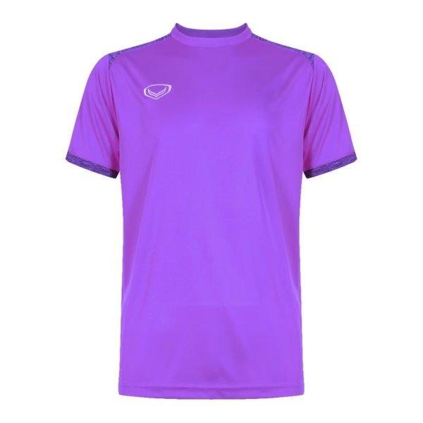 เสื้อกีฬาฟุตบอลตัดต่อรหัส: 011472 (สีม่วง)