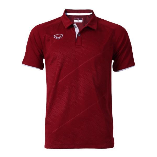 เสื้อโปโลแกรนด์สปอร์ต รหัสสินค้า : 072041 (สีเลือดหมู)