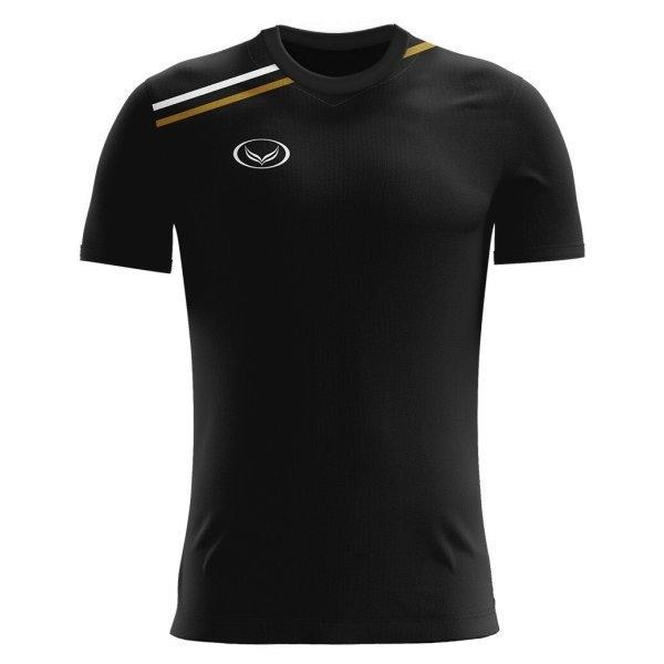 เสื้อกีฬาฟุตบอล แกรนด์สปอร์ต(สีดำ) รหัส : 011516