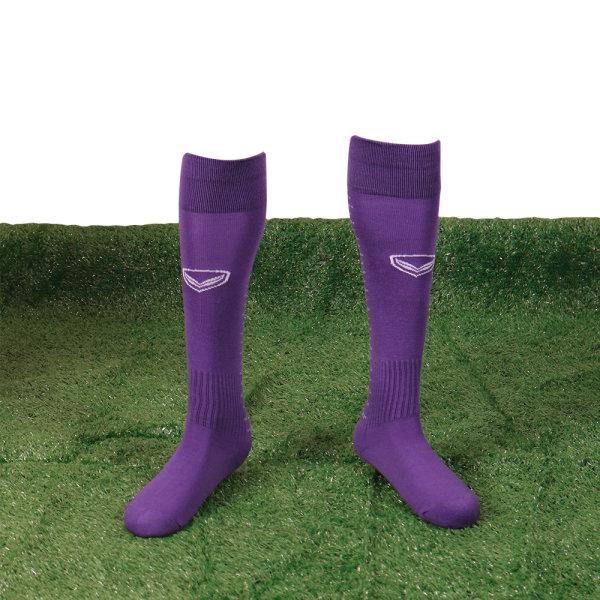ถุงเท้าฟุตบอล ทอลาย รหัส: 025121 (สีเขียว)