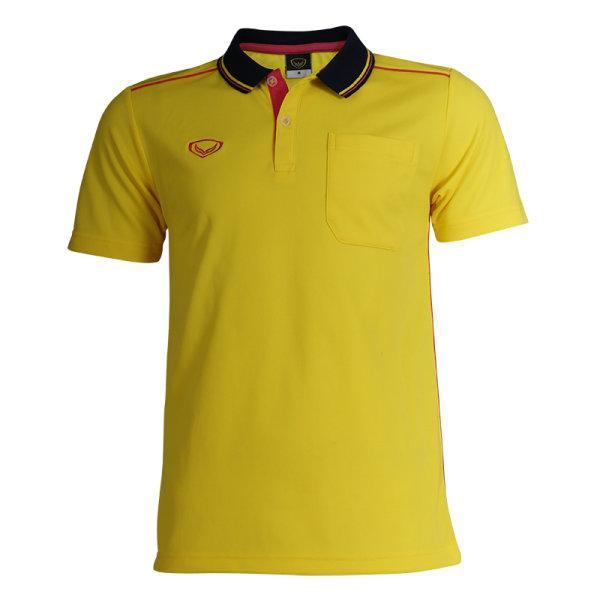 เสื้อโปโลชายสีเหลืองแกรนด์สปอร์ต รหัส :012554