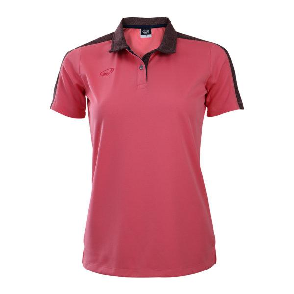 เสื้อโปโลหญิงแกรนด์สปอร์ต (สีโอรส)รหัสสินค้า : 012773