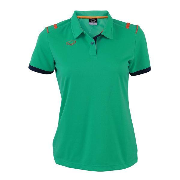 เสื้อโปโลหญิงแกรนด์สปอร์ต รหัส :012767 (สีเขียว)