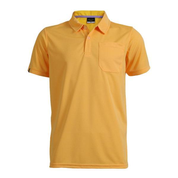 เสื้อโปโลชายแกรนด์สปอร์ต รหัสสินค้า : 012572 (สีเหลือง)