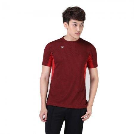เสื้อแอโรบิกคอกลมชาย รหัสสินค้า:028379(สีแดง)