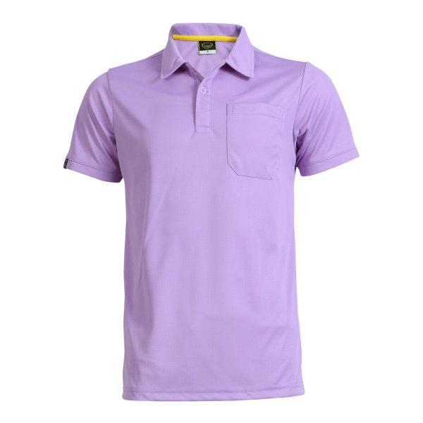 เสื้อโปโลชายแกรนด์สปอร์ต รหัสสินค้า : 012572 (สีม่วง)