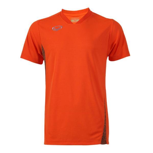 เสื้อกีฬาตัดต่อชายแกรนด์สปอร์ต (สีส้ม)รหัส:014269
