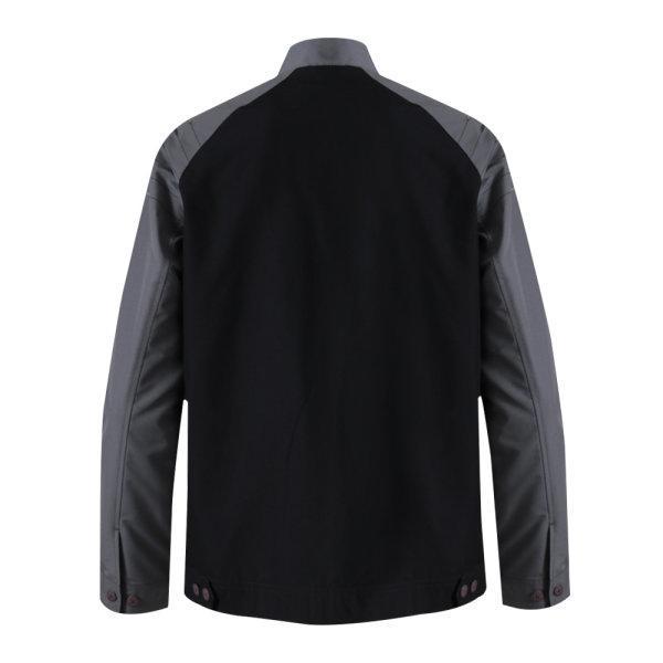 เสื้อแจ็คเก็ตชาย แกรนด์สปอร์ต  รหัส : 020649 (สีดำเทา)